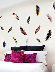 cheap -3D Wall Stickers Bedroom / Living Room, Removable PVC Home Decoration Wall Decal 1pc