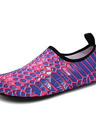cheap -Men's Unisex Trainers Athletic Shoes Sporty Athletic Water Shoes Elastic Fabric Non-slipping Purple Summer
