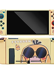 cheap -For Switch Case Cover Cartoon IMD Protective Outer Coque Shell For Switch Console Detachable UltraThin