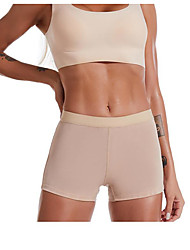 cheap -Corset Women's Control Panties Basic Seamless Simple Style Breathable Pure Color Tummy Control Basic Solid Color Seamed Nylon Spandex Christmas Halloween Dailywear Wedding Party Spring & Summer Fall