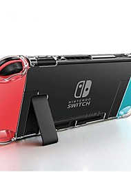 cheap -Detachable Crystal PC Transparent Case For Nintendo Nintend Switch NS NX Cases Hard Clear Back Cover Shell Coque Ultra Thin Bag