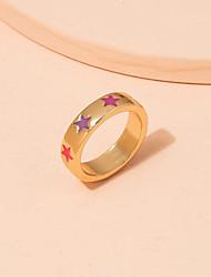 cheap -Ring Classic Gold Alloy Star Trendy Korean Cute 1 set One Size / Women's
