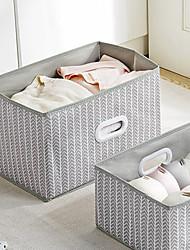 cheap -Buggy Bag Waterproof Storage Bag Household Dirty Laundry Basket Folding Clothing Storage Bucke 38*24*16cm