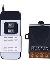 cheap -AC110V 220V 1CH Relay Remote Control Switch 30A Relay 1CH Wireless RF Remote Control Switch TransmitterReceiver 433M