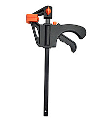 cheap -Spreader Work Bar Clamp F Clamp Gadget Tool DIY Hand Speed Squeeze Quick Ratchet Release Clip Kit 4/6Inch Wood Working