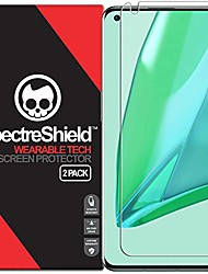 cheap -[2-pack]  screen protector for oneplus 9 pro 5g accessory oneplus 9 pro 5g screen protector case friendly full coverage clear film