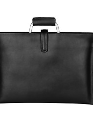 cheap -14 Inch Laptop Sleeve / Shoulder Messenger Bag / Briefcase Handbags Leather Polka Dot for Men for Women for Business Office Shock Proof