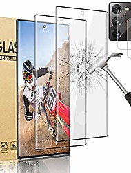 cheap -2pack best screen protector + 2pack tempered glass camera lens protector for us samsung galaxy note 20 ultra 5g - 6.9inch [support fingerprint unlock] [ compatible case] [9h hardnes]