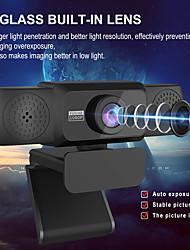 cheap -1080P HD Webcam with Mic Rotatable PC Desktop Camera Mini Computer WebCamera Video Recording Work
