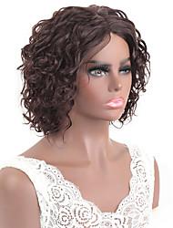 cheap -Brazilian real color hair short headset 2# color T lace virgin development show