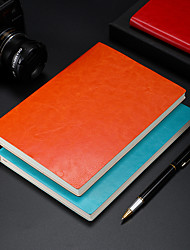 cheap -Soft PU Leather 136 Sheets A5 Blank Journal notebook back to school office Diary Planner Agenda Sketchbook14.5*21 cm1pcs