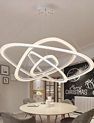 cheap -LED Pendant Light 100 cm Circle Design Flush Mount Lights Acrylic Artistic Style Classic Style Stylish Black Artistic Nordic Style 220-240V