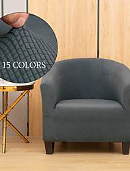 cheap -Stretch Club Chair Slipcover Cover Elastic Sectional Couch Plain Solid Color Soft Durable