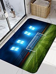 cheap -Football Field Series Digital Printing Floor Mat Modern Bath Mats Nonwoven / Memory Foam Novelty Bathroom