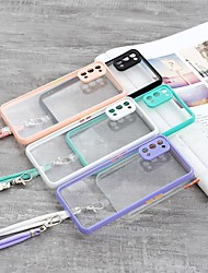 cheap -Phone Case For OPPO Back Cover OPPO F17 Pro OPPO A53 OPPO A33 OPPO A7 OPPO A5S oppo A9 2020 Oppo Reno 4 Oppo A72 / A52 / A92 Oppo A8 / A31 OPPO A32 Shockproof Dustproof Transparent TPU