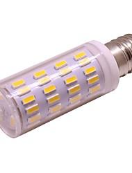 cheap -1pc 3 W LED Globe Bulbs 300 lm E14 63 LED Beads Warm White White 12 V