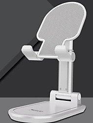 cheap -Phone Holder Stand Mount Desk Foldable Adjustable Stand Phone Holder Buckle Type Adjustable 360°Rotation Silicone ABS Phone Accessory iPhone 12 11 Pro Xs Xs Max Xr X 8 Samsung Glaxy S21 S20 Note20