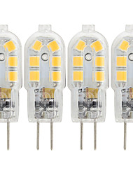cheap -G4 LED Bulb 4pcs 3W 5W 7W 12V AC220V 2835SMD 12 LEDS Warm Cold White Chandelier Light 360 Beam Angle Replace Halogen Lamp