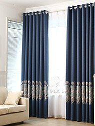 cheap -Window Curtain Window Treatment Room Darkening Light Blocking Jacquard Home Decoration For Bedroom Living Room Girls'Bedroom