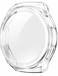 cheap -bilichip soft tpu case forwatch gt 2e cover full coverage frame smartwatch accessories bumper+screen protectorwatch gt2e