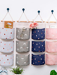 cheap -3 Grids Wall Hanging Storage Bag Over The Door Organizer  54.5*19CM