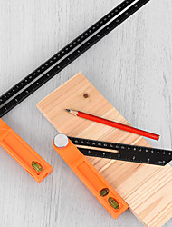 cheap -High Precision T-type Movable Angle Ruler Tool, Measuring Tool, Multi-function Aluminum Alloy Marking Ruler, Angle Ruler, Angle Gauge