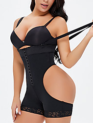 cheap -Corset Women's Plus Size Control Panties Seamless Simple Style Breathable Comfortable Classic Tummy Control Push Up Pure Color Seamed Hook & Eye Nylon Polyester Christmas Halloween Wedding Party