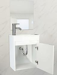 cheap -Bathroom Vanity Washing basin combination White Furniture