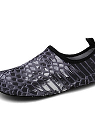 cheap -Men's Unisex Trainers Athletic Shoes Sporty Athletic Water Shoes Elastic Fabric Non-slipping Black Summer