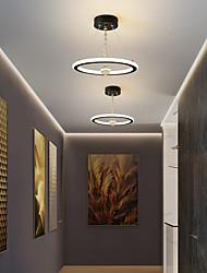 cheap -LED Pendant Light 20 cm Circle Design Pendant Light Metal Painted Finishes LED Modern 220-240V