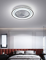 cheap -LED Ceiling Fan Light 53 cm Dimmable Ceiling Fan Aluminum Artistic Style Vintage Style Modern Style Painted Finishes LED Nordic Style 220-240V