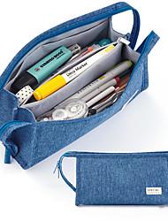 cheap -large-capacity pencil bag male multi-layer junior high school simple pupils pencil bag pencil case