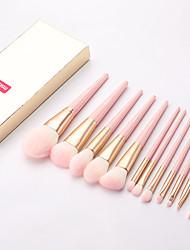 cheap -MSQ 12pcs Makeup Brushes Set Powder Blush Eye Shadow pincel maquiagem Makeup Brushes Kits Cosmetic Tools With Pink PU Leather Bag