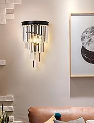 cheap -LED Wall Lights Modern Crystal Wall Lamps Wall Sconces Bedroom Dining Room Iron Wall Light 220-240V 110-120V 5W