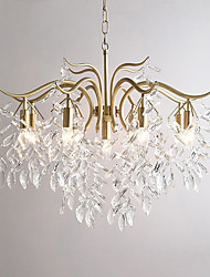 cheap -LED Pendant Light 70cm 90cm Crystal Chandelier Gold Modern Luxury Metal Painted Finishes Modern Christmas Decoration 110-120V 220-240V