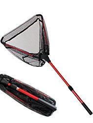 cheap -Landing Net Fishing Net / Keep Net 96 m RUBBER / Portable Telescopic Handle