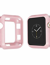 cheap -dtt13lue soft silicone cover case for compatible with apple watch 4 band 4mm 40mm iwatch band 42mm 38mm 3 frame full protection shell watch accessories