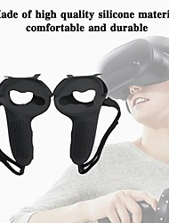 cheap -VR Controller Handle Grip Cover Silicone Full Protective VR For Oculus Sweat-Proof And Non-Slip Accessories Sleeve