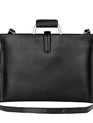cheap -11.6 Inch Laptop / 12 Inch Laptop / 13.3 Inch Laptop Sleeve / Shoulder Messenger Bag / Briefcase Handbags Leather for Men for Women for Business Office Shock Proof