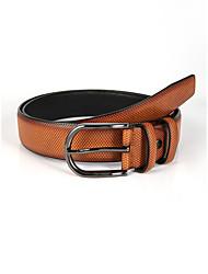 cheap -Men's Waist Belt Date Festival Brown Belt Vintage