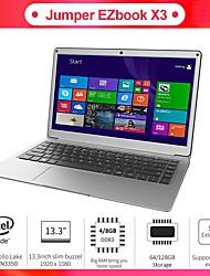 cheap -EZBOOK X3 13.3 inch IPS Intel Apollo Intel Apollo Lake N3350 4GB DDR3 64GB SSD Intel HD Windows10 Laptop Notebook