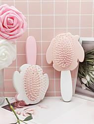 cheap -Girl Heart Cartoon Cute Rabbit Air Cushion Comb Smooth Hair Comb Massage Hair Comb