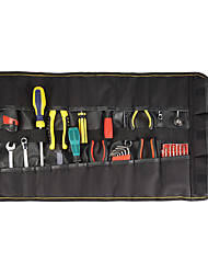 cheap -Changshengke Reel Type Multi-function Tool Kit Electrician Package Home Appliance Repair Kit Thickened Canvas Storage Tool Roll Package