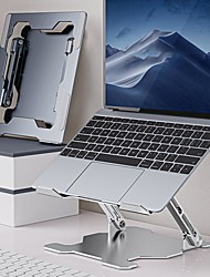 cheap -Adjustable Stand Macbook / Other Tablet / Other Laptop Foldable Aluminum / Silicone / Stainless steel Macbook / Other Tablet / Other Laptop