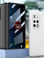 cheap -Phone Case For Huawei Full Body Case Huawei Mate X2 Shockproof Frosted Solid Colored Tempered Glass