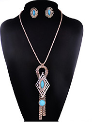 cheap -May Polly  New fashion jewelry set tassel women's Long Necklace