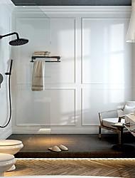 cheap -Shower Faucet Set - Rainfall Shower Contemporary Painted Finishes Mount Inside Ceramic Valve Bath Shower Mixer Taps