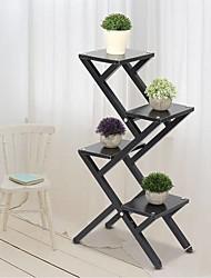 cheap -4 Tier Outdoor Indoor Space Living Room Flower Pot Stand Shelf Garden Rack Furniture