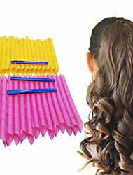 cheap -30 Pcs/set 21.65inch Magic Hair Curlers Curls Styling Kit DIY No Heat Hair Curlers for Extra Long Hair up to 22 (55 cm)