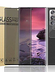 """cheap -[1+2] note 20 ultra privacy screen protector tempered glass + camera lens protector[anti-spy][9h hardness][anti-scratch][3d full coverage] protective film for samsung galaxy note 20 ultra 5g (6.9"""")"""